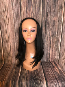 "20"" Dahlia Band fall Layered wig in Large"