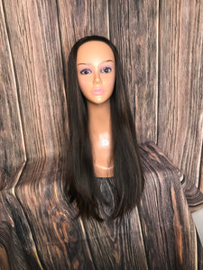 "27"" Dahlia Band fall Layered wig in Medium"