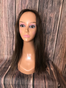 "22"" Dahlia Full Wig Precut Wig Layered in Medium"