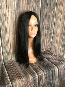 "23"" Dahlia Full Wig Precut Wig Layered in Medium"