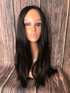 "24"" Dahlia Full Wig Precut Wig Layered in Large"