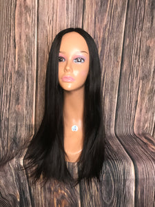 "25"" Dahlia Full Wig Precut Wig Layered in Large"