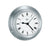 Barigo Quartz clock 683, 110mmØ stainless steel
