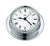 Barigo Quartz clock 6710, 88mmØ chrome