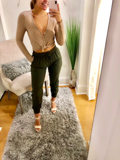 Olive these joggers