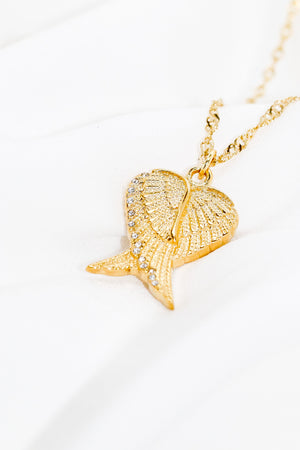 ANGELIC WINGS NECKLACE - Taimana Boutique