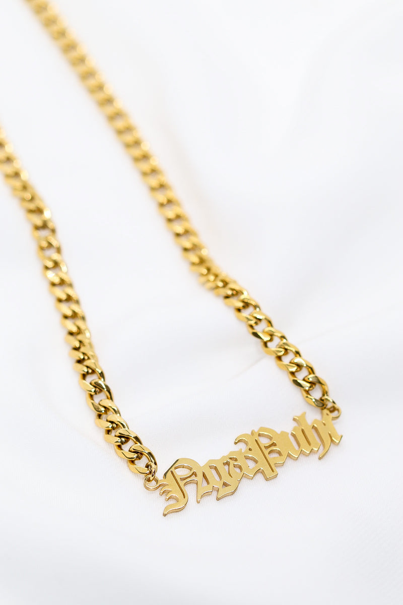 OG PERSONALISED NAME NECKLACE - Taimana Boutique