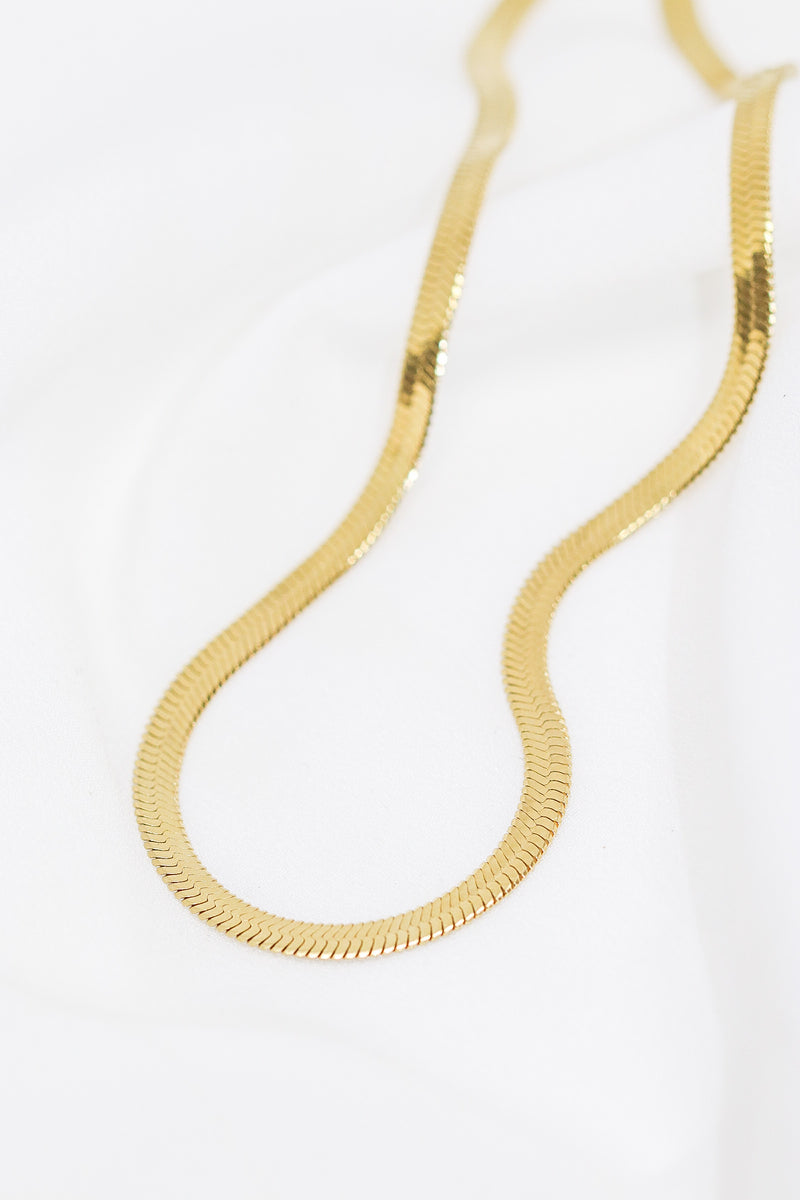 LUXE SNAKE CHAIN - Taimana Boutique