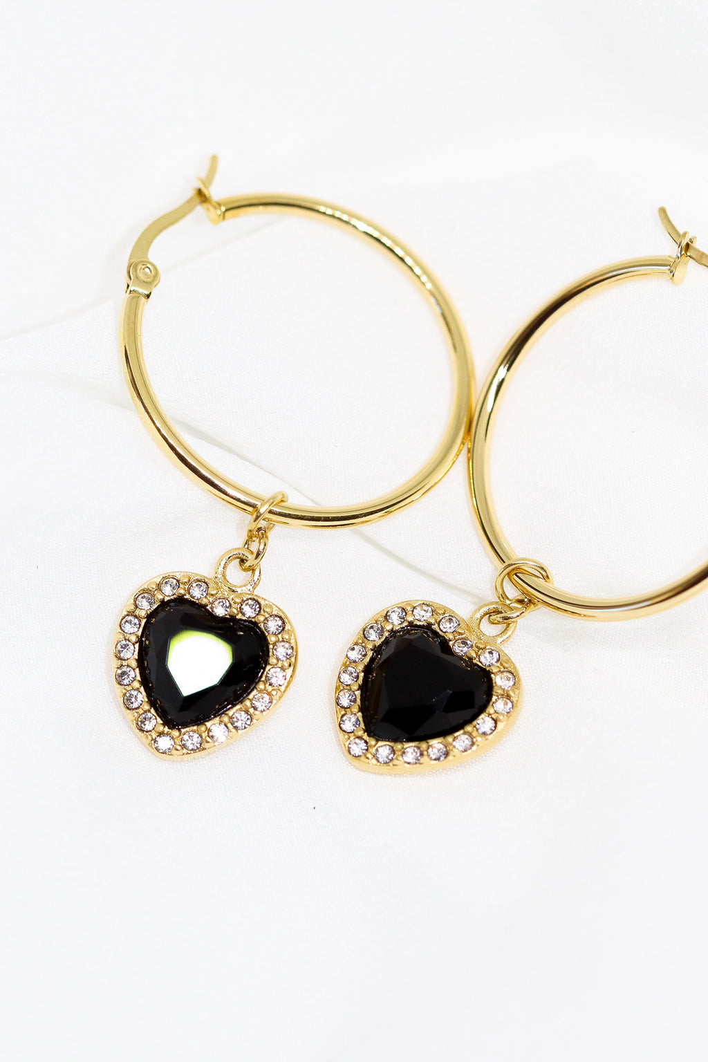 90s SWEETHEART HOOPS - Taimana Boutique