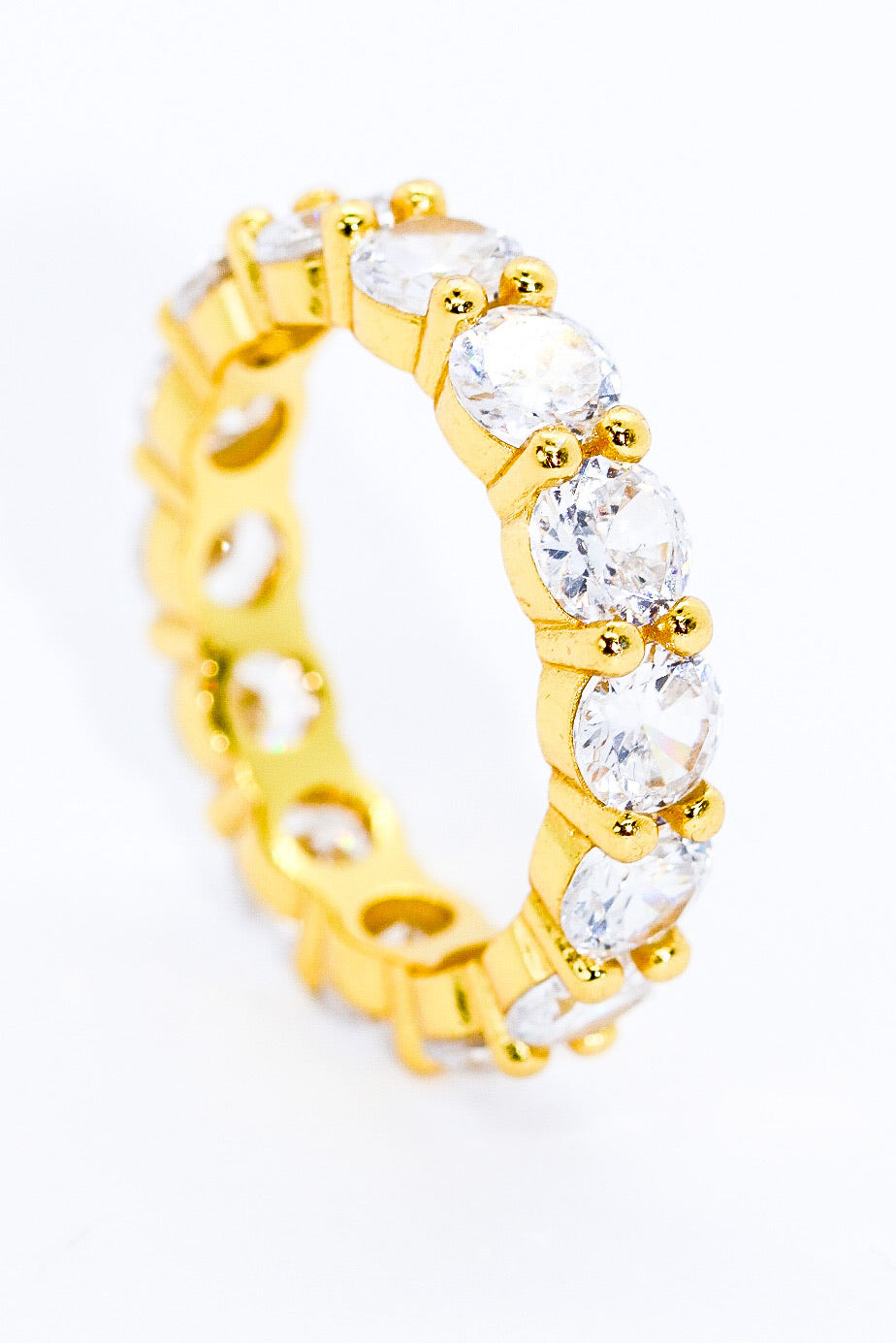 LARGE ROUND BLING BAND - Taimana Boutique