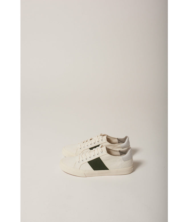 Low Classic R-CANVAS White/Green