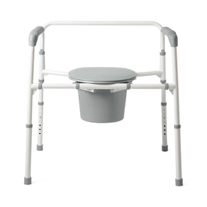 Medline Extra-Wide Steel Bariatric Commodes