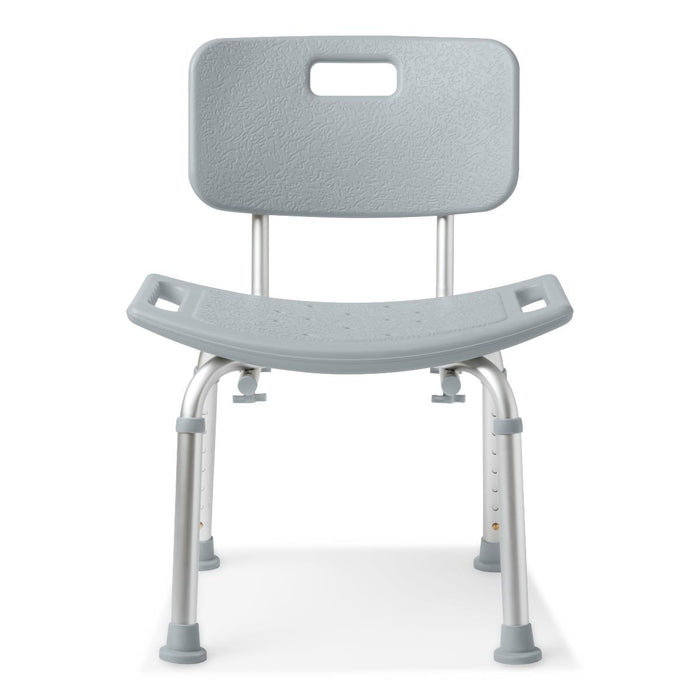 Medline Aluminum Bath Bench with Back