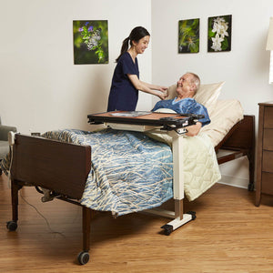 Medline Semi Electric Hospital Bed Set - Express Hospital Beds