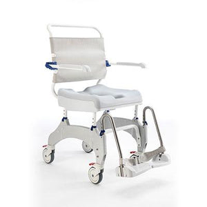 Aquatic Ocean Ergo XL Shower Commode Wheelchair