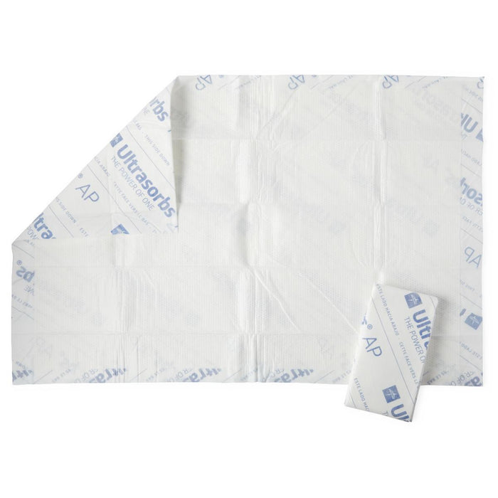 Medline Ultrasorbs Air Permeable Drypad Underpads (70 QTY)