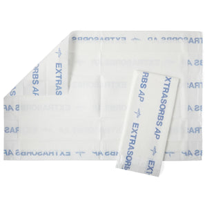 Medline Extrasorbs Air Permeable Drypad Underpads (70 QTY)
