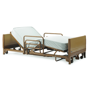 Invacare Full Electric Low Hospital Bed Set - Express Hospital Beds