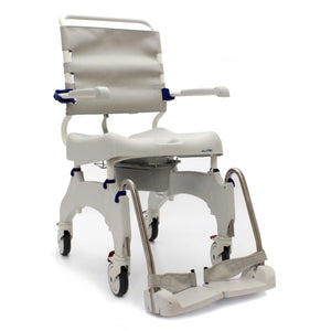 Invacare Aquatec Ocean Ergo Rolling Shower and Commode Wheelchair