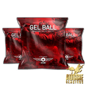 NEW (10,000) TACTICAL MILKY AGGRAVATING GEL BALLS  7-8MM