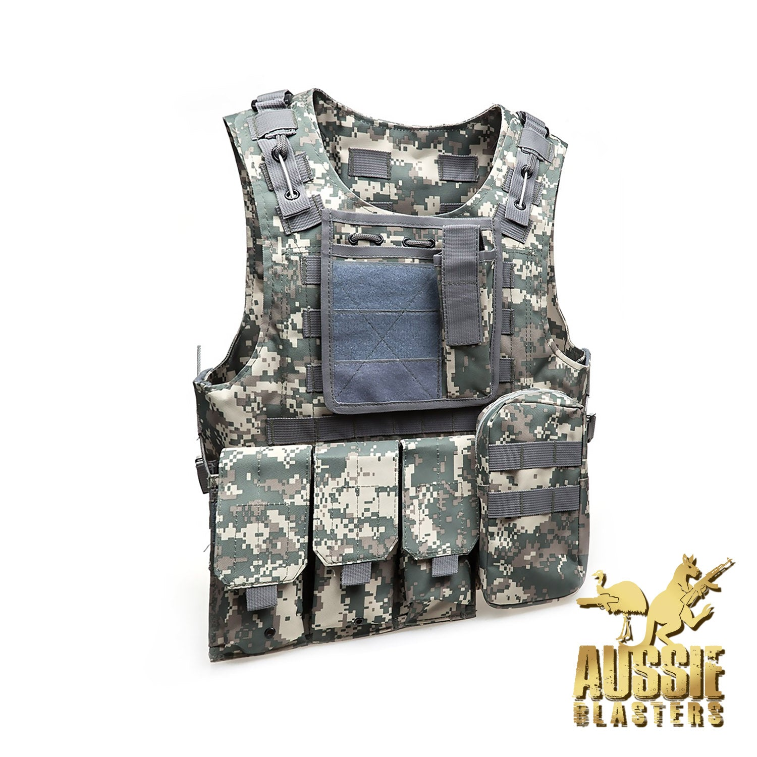 TACTICAL VESTS - ACU CAMO
