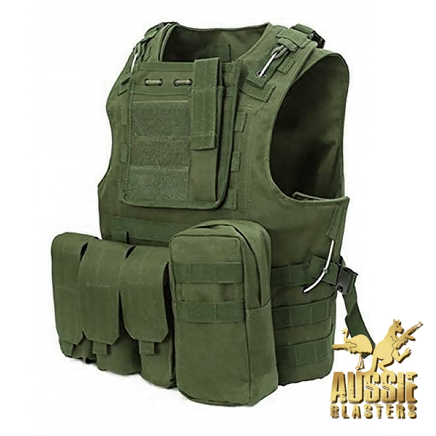 TACTICAL VESTS - ARMY GREEN