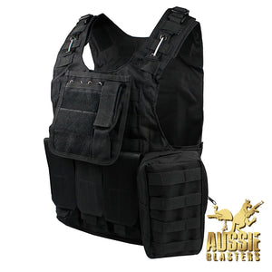 TACTICAL VESTS - BLACK