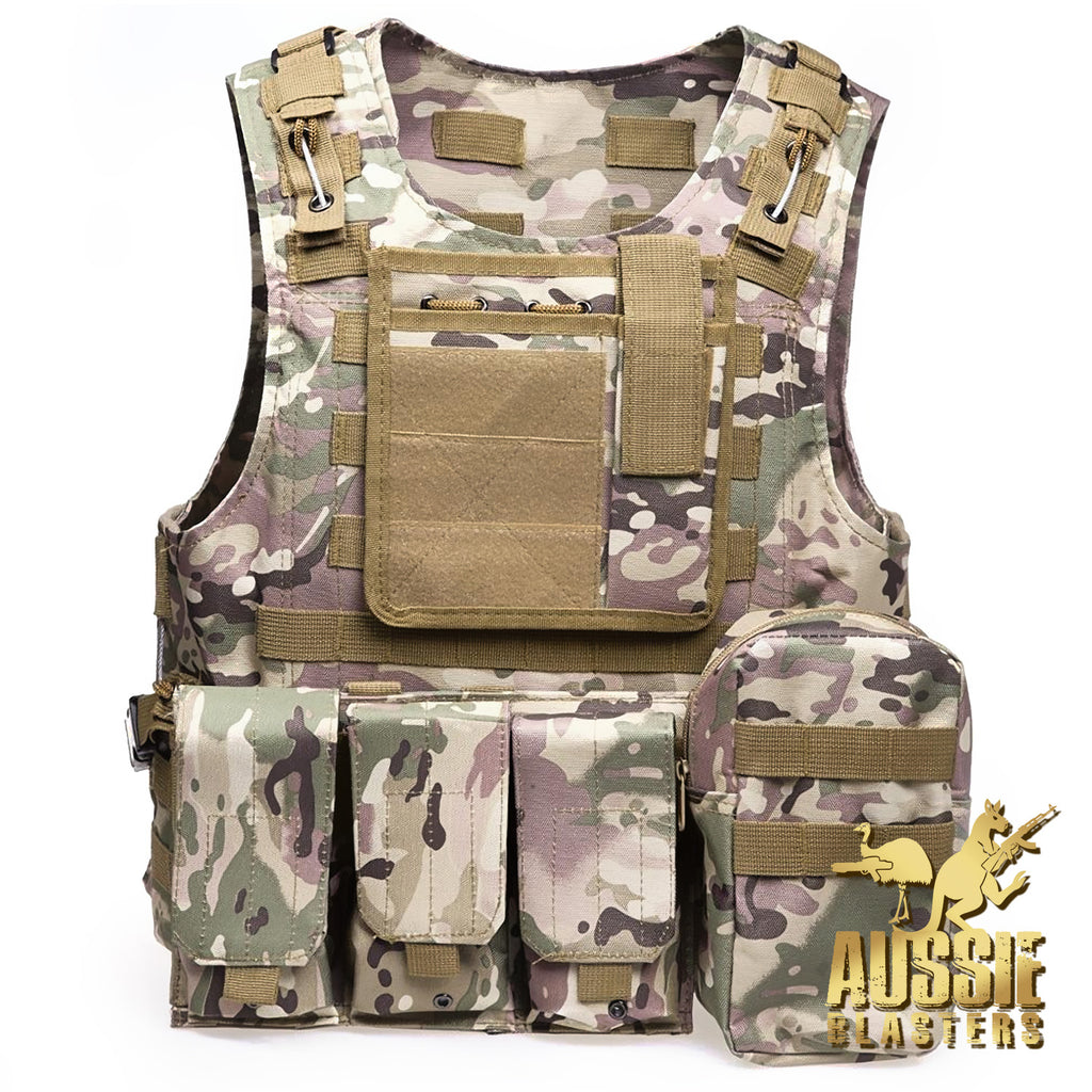 TACTICAL VESTS - CP CAMO