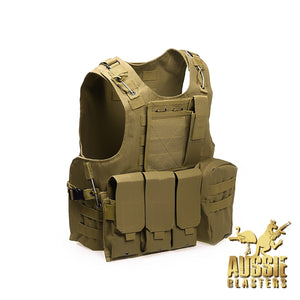 TACTICAL VESTS - KHAKI
