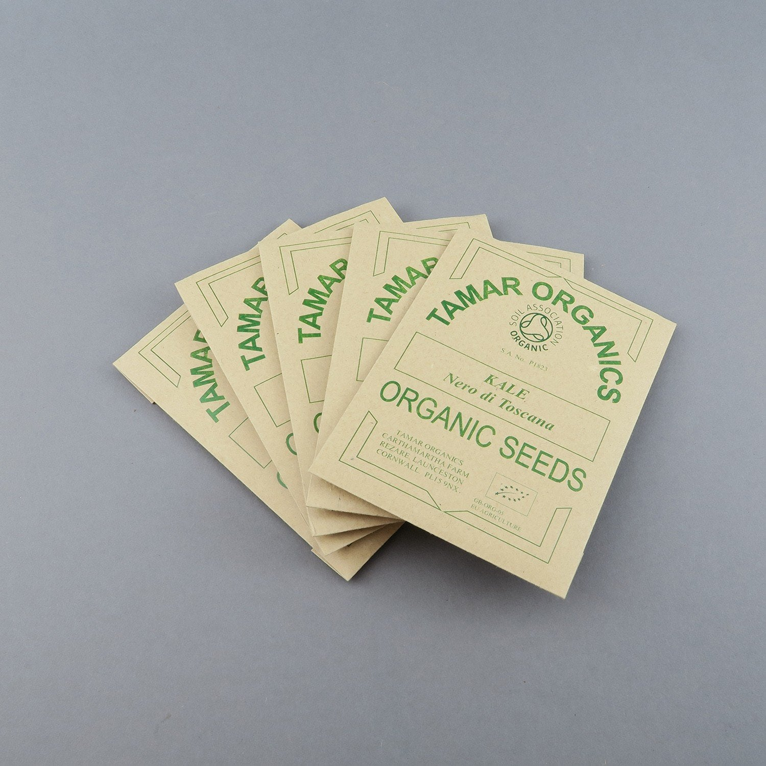 Organic Vegetable Seeds (various)
