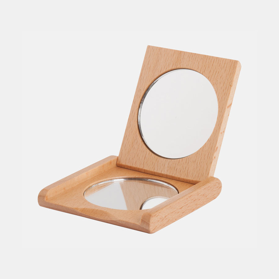 Beech Pocket Mirror