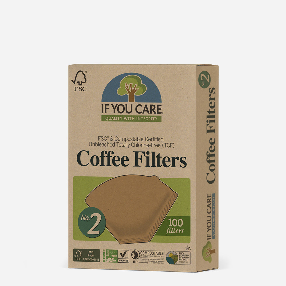 Unbleached FSC Coffee Paper Filters