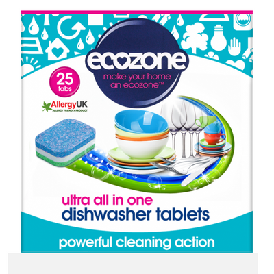Dishwasher Tabs with Biodegradable Wrappers