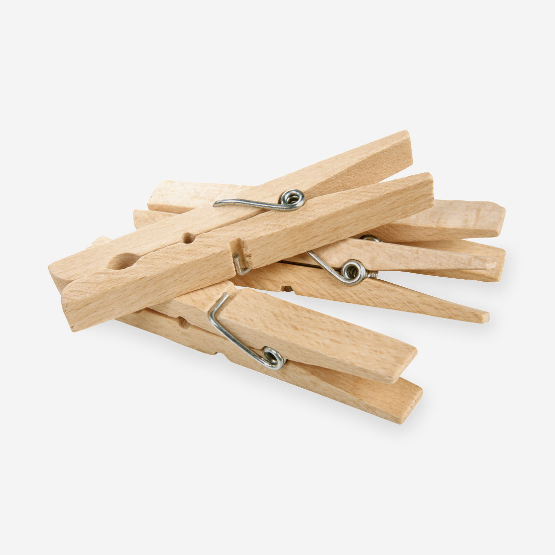 Wooden Spring Clothes Pegs