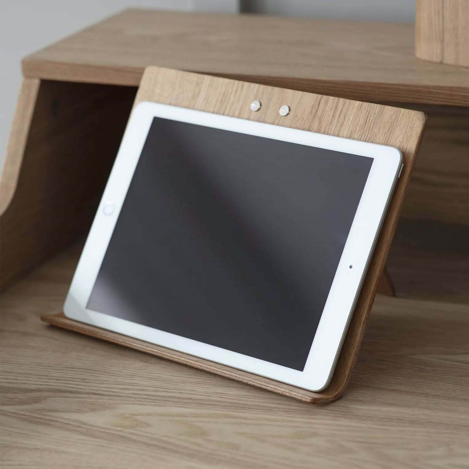 Ash Wood Tablet / iPad Stand