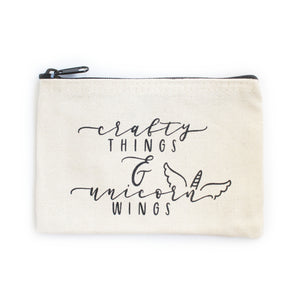 Crafty Things Canvas Pouch (ACC1001)