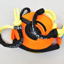 Load image into Gallery viewer, Recovery Kit of Snatch Strap 8000kg (Orange) +2* Soft Shackles 13300kg