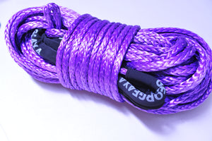 11mm*11000kg Tow rope, length from 1.5meter to 200meters ,Soft Loop At both ends,Australia made