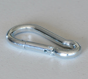 Shade sail and Balustrade DIY, Zinc Plated Snap Hook Carabiner 5mm, 6mm, 8mm,10mm Shade sail Accessories