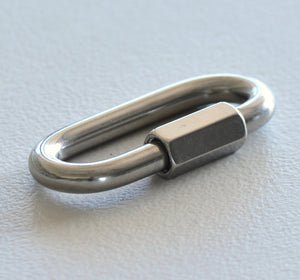 2Pcs *Marine Grade Stainless Steel Quick Link 5mm, 6mm,8mm,10mm chain repair balustrade shade sail