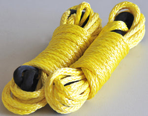 Winch Extension Towing ROPE 10mm Breaking 9200kgs dyneema George4x4, 4WD Recovery gear 4x4 off road