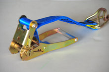 Load image into Gallery viewer, Ratchet Tie Down Cargo Webbing lashing Load Restraint 25mm*200kg, 35mm*1500kg, 50mm*2500kg
