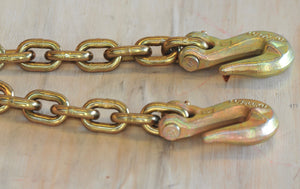 Grade 70 Transport Chain with Grab hook Each ends Load Restraint Lashing with Tool Box