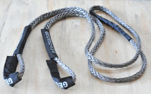 Bridle Rope(Equaliser) Kit  13200kg Bridle Rope + 19800kg Soft Shackle with Ring /without ring Kit, 4WD Recovery Gear,Australia Made!