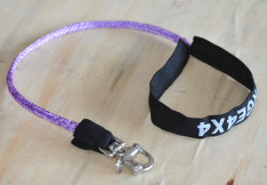 Customized Dog Leash, Brisbane Handcrafted, with Quick Release Snap Shackle