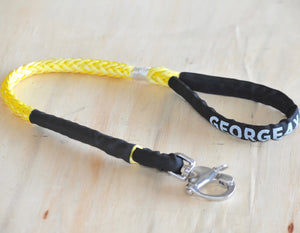 Dog Leash 10mm Yellow with Quick release hook, made in Australia, Strongest Leads