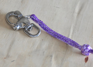 Snap Hook Shackle Quick Release Eyelet with Purple Soft shackle