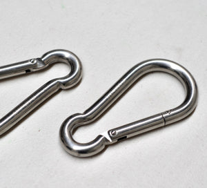Carabiner / Snap Hook Marine Stainless Steel AISI316 , Rigging Shade sail Accessories, Balustrade DIY