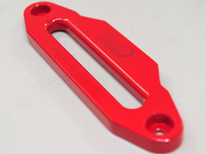 Aluminium Alloy Fairlead RED Coating, Hawse Winch Accessories for Dyneema Rope 4wd
