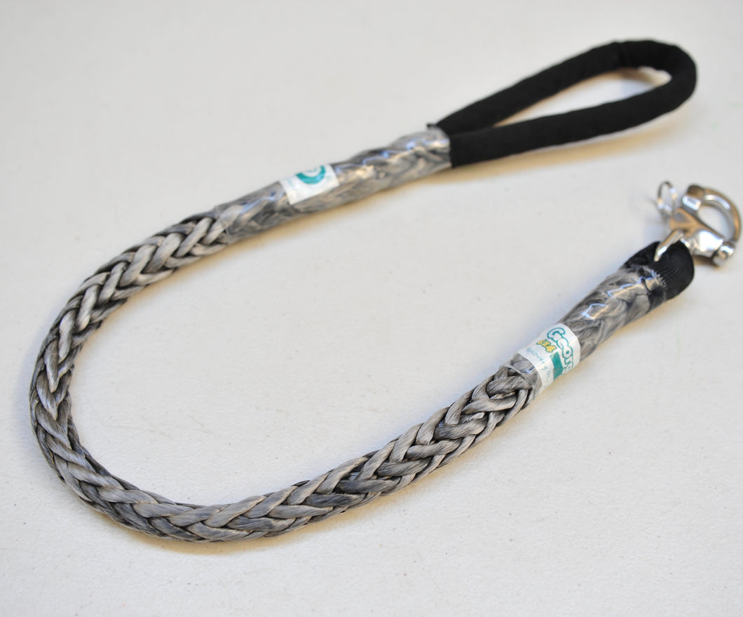 Dog Leash 12mm Silver /Grey with Quick release hook made in Australia, Strongest Leads